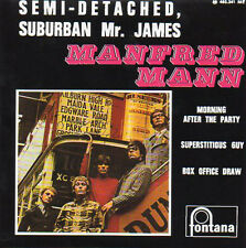★☆★ CD Single MANFRED MANN Semi-detached, suburban Mr James EP REPLICA  4-t  ★☆★
