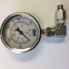 Pressure Gauge Glycol filled 0-5000 PSI