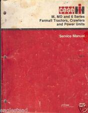 Farm Manual - Case IH - M MD 6 Series Farmall Tractor Crawler Power Unit (FM43)