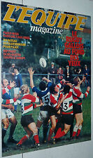 EQUIPE MAGAZINE N°38 1980 RUGBY WALES FOOTBALL JOHNNY REP PAOLO ROSSI PAJOT GOLF