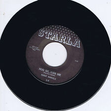 EDDIE DANIELS – HUG ME KISS ME / HURRY BABY (Killer 50s BLACK ROCKER) Rockabilly