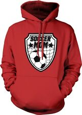 Soccer Mom Mother Parent Team Supporter Ball Goal Son Daughter Hoodie Pullover