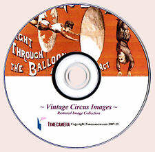 Print & Sell: ANTIQUE CIRCUS IMAGES PRINTS PHOTOS - DVD-Rom Disc