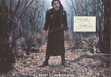 OZZY OSBOURNE Signed 12x8 Photo Display BLACK SABBATH COA