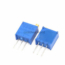 25pcs 3296W 204 200K Ohm Trim Pot Trimmer Potentiometer Variable Resistor 25Turn