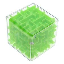 Cool 3d Maze Magic Cube Labyrinth Rolling Twist Toy Challenging Puzzle Game Gift