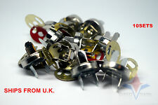 10 Set Magnetic Clasps Button Fastener Bag Purse Sewing Leathercraft 18mm
