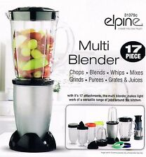 17Pc 250w Bullet Cup Electric Multi Food Blender With Grinder Smoothie Processor