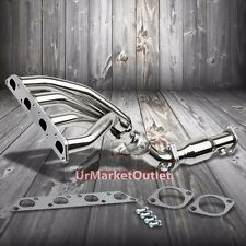 4-1 Stainless Steel 2PC Exhaust Header Manifold For Mini 02-08 Cooper R50/R53