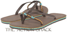 D1020 - Rip Curl Coco Sandals / Flip-Flops • New Womens 8 Chocolate - #27227