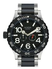New Nixon Moon Raider Titanium G10 Swiss Quartz Men's Watch A9472166