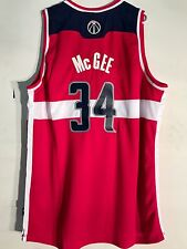 Adidas Swingman NBA Jersey Wizards McGee Red sz 2X
