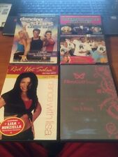 Dance Workout 4 DVD Lot...Red Hot Salsa, Flirty Girl, Dancing with the Stars...