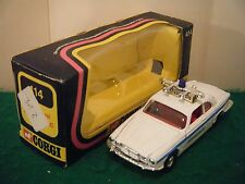 "Corgi No: 414 ""Jaguar XJ12C COASTGUARD"" - White (Original 1975/Boxed)"