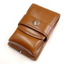 S.T. Dupont Ligne 2 Leather Lighter Case Brown (180124)
