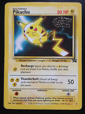 RARE PIKACHU promo card. #4 Original pokemon MINT 1999, the first movie