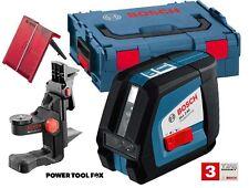 new Bosch GLL2-50 BM1 Pro CROSS LINE LASER + BM1 L-Boxx 0601063108 3165140775861