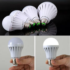 LED Intelligent E27 5W Light Bulbs Energy Saving Emergency Rechargeable Lamps