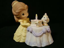 zs Precious Moments-Disney-Belle, Chip, & Mrs. Potts-Beauty And The Beast