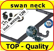 Towbar & Electric 12N VW Volkswagen Bora Saloon 1998 - 2005 / swan neck Tow Bar