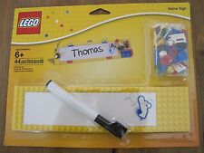 BRAND NEW! LEGO NAME SIGN BUILDING TOY SET 850798