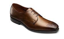 New. $395 Allen Edmonds Men's Flatiron Derby Shoe Size US 8 Bourbon