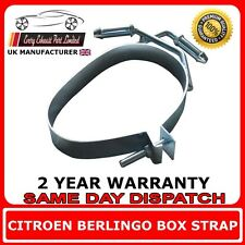 Citroen Berlingo Rear Silencer Exhaust Strap Band Bracket Hanger Mount Back Box