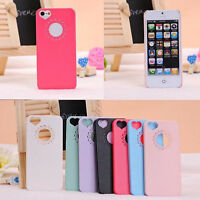 Ultra Slim Cute Love Heart Hard Back Case Cover Skin For iPhone 4S 5S 4 5 6