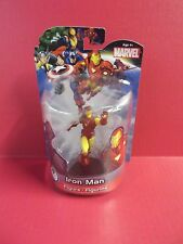 """MARVEL UNIVERSE """"IRON MAN"""" 4""""IN FIXED STATUE FIGURE GREAT DETAIL 2012"""