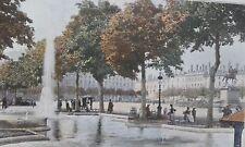 Place Bellecourt LYON PHOTOGRAVURE  la FRANCE de l' EST C.GILLOT XXéme