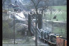 Central Vermont Railway 4924, DW&P 3613, GT montpelier jct vt  1967