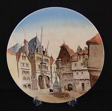 """grand plat décoratif place de village Villeroy & Boch """"stadthaus in Berncastel"""""""