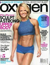 Oxygen Magazine November/December 2016 Nicole Wilkins EX No ML 111816jhe