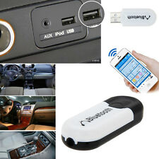USB Bluetooth Wireless 3.5mm AUX Stereo Audio Music Receiver Adapter Dongle A2DP