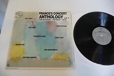 FRANCE CONCERT ANTHOLOGY VOL 1 LIVE IN PARIS ANTIBES LP EVANS CHET BAKER MONK...