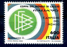 1990 ITALIA -  GERMANIA CAMPIONE DEL MONDO CALCIO NUOVO **