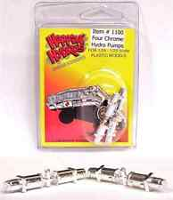 Hoppin Hydros 4 Chrome Hydro Pumps 1/24 scale Model kit