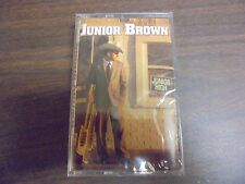 "NEW SEALED ""Junior Brown"" Junior High  Cassette Tape (G)"