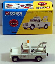 DTE 1997 CORGI CLASSICS 07102 MERSEY TUNNEL RECOVERY LAND ROVER BREAKDOWN TRUCK