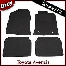 Toyota Avensis Tailored Fitted Carpet Car Mats GREY (2003...2006 2007 2008 2009)