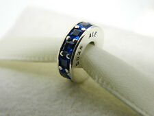 NEW! AUTHENTIC PANDORA CHARM  ETERNITY ROYAL BLUE SPACER #791724NCB