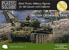 15MM BRITISH CROMWELL TANK - PLASTIC SOLDIER COMPANY WW2