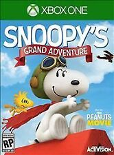 XBOX ONE SNOOPY'S GRAND ADVENTURE BRAND NEW FACTORY SEALED