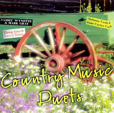 Audio CD Country Music Duets - Duets in Love - Free Shipping