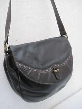 -AUTHENTIQUE  sac besace ZENITH  cuir   TBEG  bag vintage