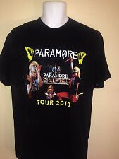 PARAMORE 2010 TOUR TEGAN & SARA  NEW FOUND GLORY LARGE  T SHIRT  ROCK