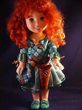 Disney Tolly Tots Brave Beautiful Merida~Disney Princess~Red Hair Doll