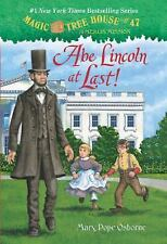 MAGIC TREE HOUSE Abe Lincoln at Last! (Brand New Paperback) Mary Pope Osborne