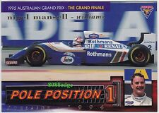 1995 FUTERA FORMULA ONE POLE POSITION #PP10: NIGEL MANSELL #/3000 F1 GRAND PRIX