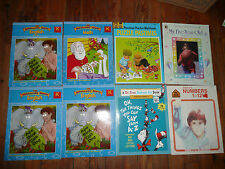 Lot of 8 PRESCHOOL – Grade 1 ACTIVITY books READING Numbers ENGLISH
